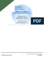 ABC of ADC converter