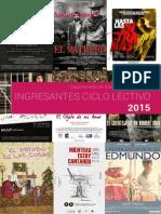 Cuadernillo Informativo UNA 2015