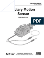 Rotary Motion Sensor Manual CI 6538