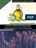 Lección 19 - El Aceite Como Símbolo Del Espíritu Santo