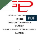 Giral lignite power plant barmer