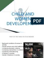 Child and women development