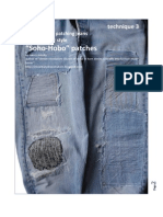 How to Patch Your Jeans with Soho-Boho Style