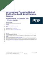 Oasis Dss 1.0 Profiles Asynchronous Processing Spec CD 01