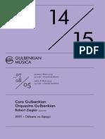 Gulbenkian 8 de Maio 2015