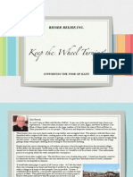 Reiser Relief Inc Haiti Pamphlet