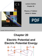 w3 Chapter 20 Electric Potential Energy