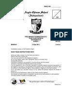 2011ACS Indep Prelim EM1