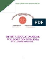 Revista Asociației Educatoarelor Waldorf din România, nr.5, anul 2015