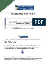 Apresentação economia politica II