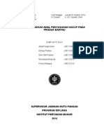 Revisi Laporan Bakpao AP1 5 HACCP 2014