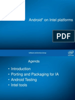 Android on Intel Platform