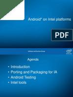 Android on Intel Platform