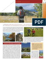 Montenegro Wilderness Hiking & Biking Factsheets 2011