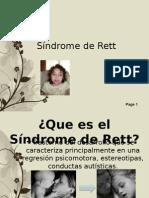Sindrome de Rett