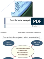 Chap005 - Cost Behavior