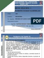Clases Semana 03_Ciclo 1_2015 del curao de Abastecimeitnos de Agua y Alcantarillado_FICA_UNHEVAL_Huánuco