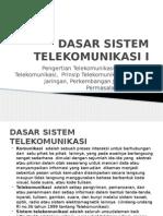 Dasar Sistem Telekomunikasi i