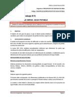G10_AOPP01 Presupuesto de Obra (Agua Potable)