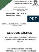 Acidosis Lactica - Hipoglucemia