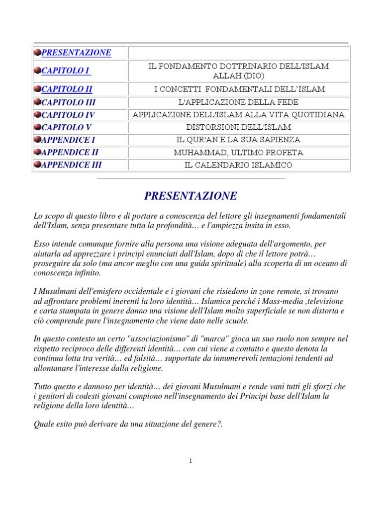 Calendario Islamico E Feste Islamiche.Islam In Focus Italiano