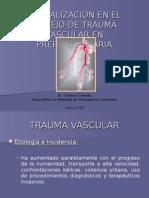 Actualizacion en El Manejo de Trauma Vascular en Dr Orlado c