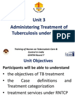 Administering Treatment of Tuberculosis