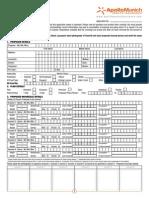 Easy Health Proposal Form
