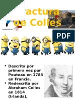 Fractura de Colles - Caffo