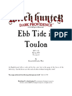 Ebb Tide in Toulon Adventure for Witch Hunter rpg