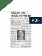 Telekom und Politik am Pranger