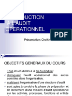 Introduction Audit Opérationnel