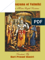 The Ramayana of Valmiki - A Complete Modern English Translation 3vol
