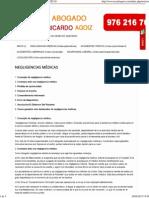Ricardo Agoiz - Abogado - Negligencias Médicas