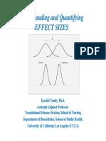 Undestanding Effect Size 4-9-2012