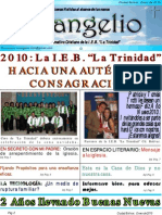 14 Informativo Evangelio Oct- Enero de 2010