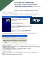Como Hacer Una Copia de Seguridad Del Registro de Windows