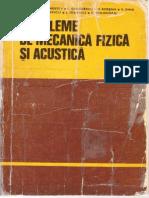 Plavitu  - Probleme de Mecanica Fizica Si Acustica