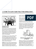 A Guide to Safe Farm Tractor Operation
