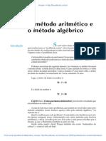 Aula 04 - O método aritmético e o método algébrico.pdf
