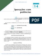 Aula 14 - Operações com potências.pdf