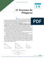 Aula 19 - O Teorema de Pitágoras.pdf