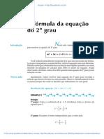 Aula 25 - A fórmula da equação de 2º grau.pdf