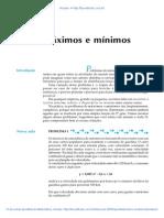 Aula 32 - Máximos e mínimos.pdf