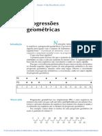 Aula 35 - Progressões geométricas.pdf