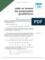 Aula 36 - Somando os termos das progressões geométricas.pdf