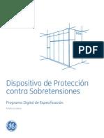 Dispositivo de Protección Contra Sobretensiones (SPD)