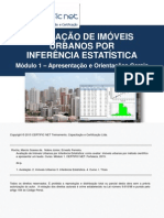 Curso Avaliação de Imóveis Urbanos por Inferência Estatística_Certfic Net_eBook1_Apresentação