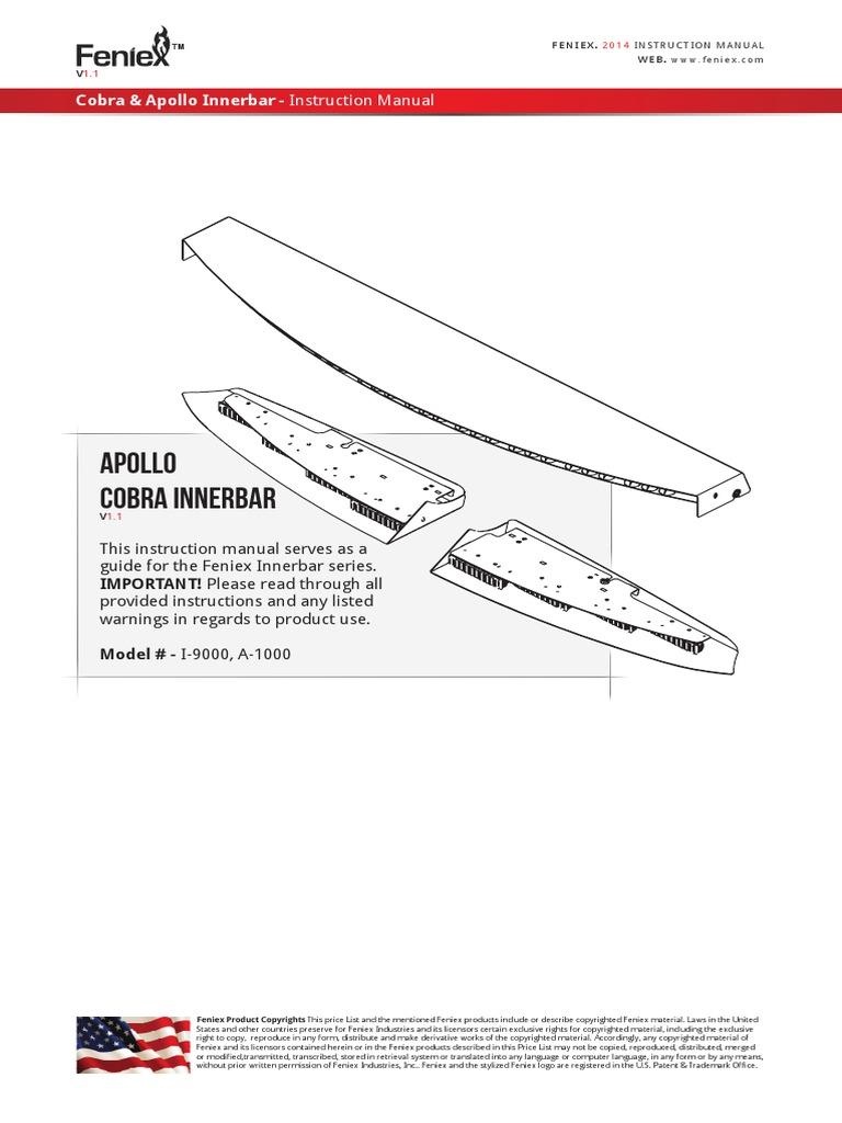 Feniex Apollo Cobra Innerbar Copyright Screw Light Wiring Diagram