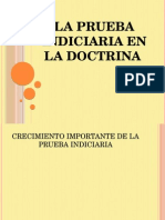 La Prueba Indiciaria en La Doctrina